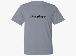 Bass player clef music gift moisture wicking material workout gray new t... - $17.99