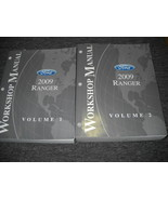 2009 FORD RANGER TRUCK Service Shop Repair Workshop Manual Set FACTORY OEM - $69.25