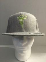 Yupoong Eye of Horus Green/Gray Adjustable Snapback Hat Cap Men's OSM - $18.99