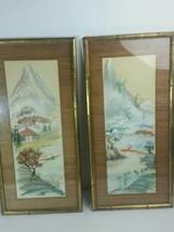 Vintage RUDOLF LESCH FINE ART VINTAGE ORIGINAL WATERCOLOR PAINTING - $293.02
