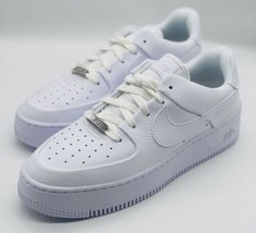 NEW Nike Air Force 1 Sage Low Triple White AR5339-100 Women's Size 8 - $138.59