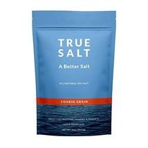 True Salt - Gourmet Coarse Grain Salt - 16 Ounce - Premium Unprocessed S... - $11.82