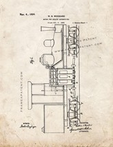 Motor For Geared Locomotives Patent Print - Old Look - $7.95+
