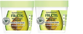 Garnier Fructis Smoothing 1 Minute Hair Mask, Avocado, 3.4 fl. oz. (Pack... - $12.99