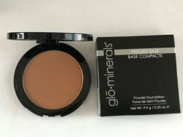 Glominerals Pressed Base Powder Foundation Compact Cocoa Light - $25.00