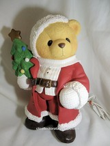 Cherished Teddies Nightlight Large Santa - 18 Inch  1998  Used In Box - $183.15