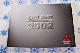 02 2002 Mitsubishi Galant owners manual new original - $5.45