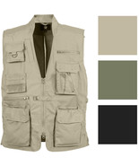 Tactical Concealed Carry Vest Cargo Travel Outdoor Plainclothes CCW Mult... - $60.99