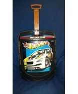 Hot Wheels Carrying Case On Wheels -  Holds 100 Cars - Retractable Handl... - $19.97