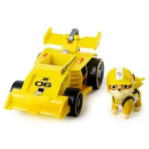PAW Patrol, Ready, Race, Rescue Rubble's Race & Go Deluxe Vehicle with Sounds, - $7.50