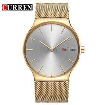 Watches men Fashion   Watch CURREN sport military men full steel wristwatches Ca - $43.13