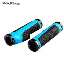 CoolChange Cycling Grips Mountain Bike Handle Rubber Grips Of Bilateral ... - $19.23