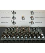 61pcs The Hobbit Battle of Five Armies The Dwarf army Dain Ironfoot Mini... - $109.99