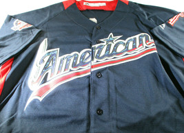 MIKE TROUT / AUTOGRAPHED AMERICAN LEAGUE BLUE ALL STAR BASEBALL JERSEY / COA image 2