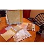 Memories Direct 12x12 Scrapbook Album Huge kit! Yellow - $14.84