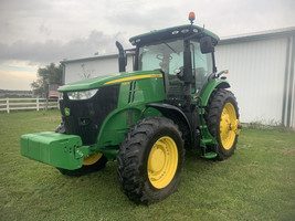 2017 John Deere 7210R Tractor FOR SALE IN Ubly, MI 48475 image 1