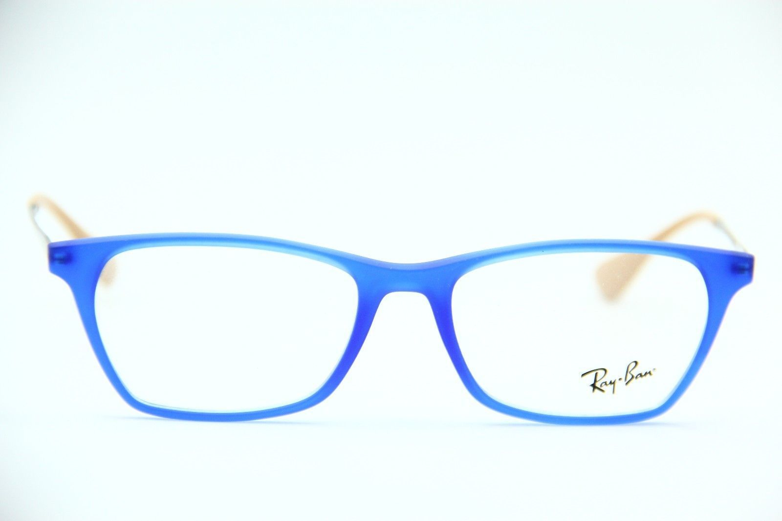 3f7f77d217 ... NEW RAY-BAN RB 7053 5524 BLUE EYEGLASSES AUTHENTIC FRAME RX RB7053  52-17 ...