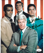 Peter Graves signed Mission: Impossible Cast 8x10 Photo Best Wishes- JSA... - $68.95