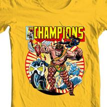 The Champions T shirt classic Marvel Comics Hercules Iceman Angel graphic tee image 1