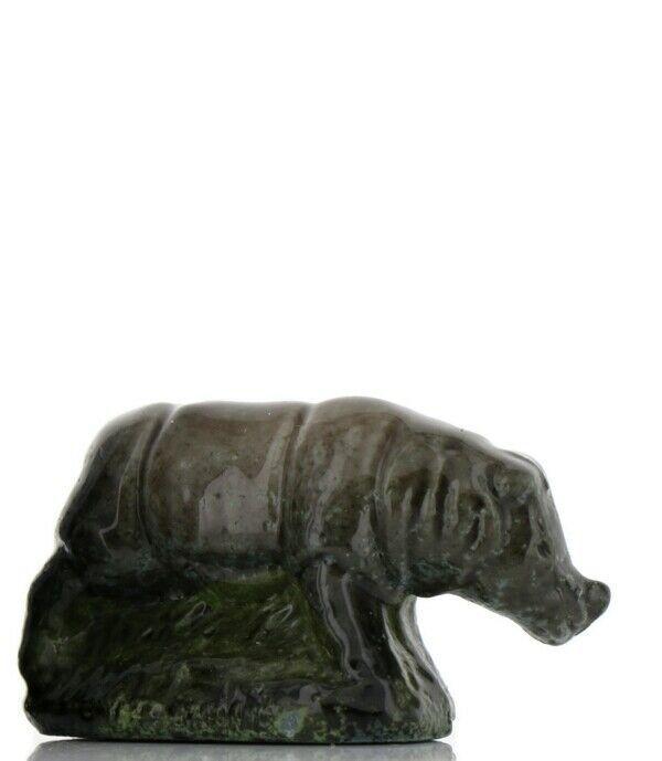 Whimsies Porcelain Miniatures by Wade Figurine Rhinoceros