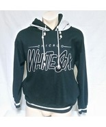 VTG Chicago White Sox Hoodie Sweatshirt 90s Double Hood Beads Graffiti M... - $59.99