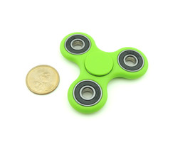 fidget spinner edc finger hand spinner focus anxiety stress relief desk toy green size thumb200