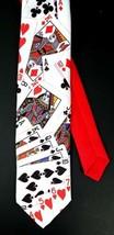 "Original Ralph Marlin ""Cards"" Neck Tie Vintage Retro Poker Playing Cards - $14.99"