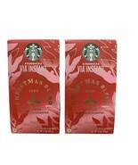 2x Starbucks Christmas Blend 2020 Via Instant Coffee Packs 24 Servings T... - $29.69