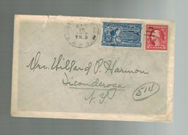 1910 Special DeliveryCover RPO to Ticonderoga NY USA - $14.84