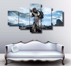 Star Wars Stretched Canvas  5 Piece Canvas Art Wall Art Picture Home Decor - $22.80+
