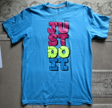 NIKE JUST DO IT t-shirt SIZE XL TG EG US-18 - $11.88