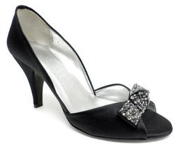 ANNE KLEIN New York Black Evening Pumps 6.5 Shoes 6 1/2 Heels $265 - $35.10