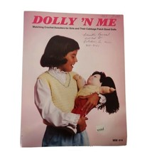 Dolly N Me Crochet Pattern Booklet Dolly N Me Matching Sweaters Girls Do... - $12.59