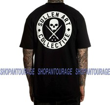 Sullen Classic Black SCM3008 Short Sleeve Graphic Tattoo Skull T-shirt F... - $26.95