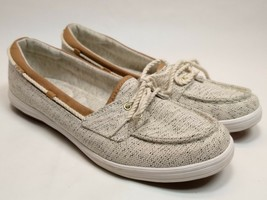 Keds Ortholite Insoles Womens Grey Boat Shoes Slip On Top Sider Casual S... - $29.91