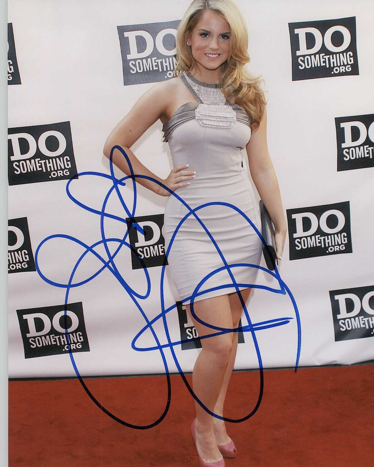 Primary image for JoJo Levesque Signed Autographed Glossy 8x10 Photo