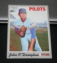 1970 Topps Baseball Card #441 John O'Donoghue - $3.95