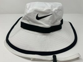 NEW! NIKE [M/L] Adult Unisex Sideline Bucket Hat-White/Black AR4842-100 - $69.18
