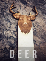 Engraved Deer Bookmark - $10.00