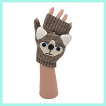 Flip Mittens Huskey - Unisex One Size Fits Most - Mittens to Fingerless Gloves image 2