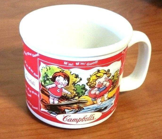 Vintage Campbells Soup Bowl MUG/CUP 2000 Houston Harvest Collectible