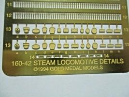 Gold Medal Models # 160-42 Steam Locomotive Detailing Set N-Scale image 2