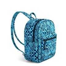Vera Bradley Quilted Signature Cotton Leighton Backpack, Cuban Tiles image 3