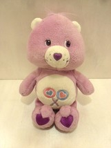 "Retired 2002 Plush Share Care Bear Carebears 8""  Purple Lollipops Bear S... - $2.99"