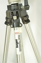 Manfrotto Bogen 3021 pro camera tripod +3047 Deluxe 3-way Pan/tilt Head image 8