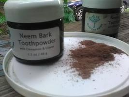 Neem Bark Toothpowder with Cinnamon & Cloves 1.5 oz / 43 g - $7.00