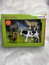 Schleich Farm World 4-Piece Farm Animals Set for Toddlers and Kids Ages 3-8 - $29.99