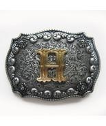 Original Western Initial Letter H Belt Buckle Gurtelschnalle also Stock ... - $9.10