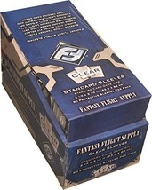 500 Fantasy Flight Games Standard Card Game Size Sleeves - 10 Packs + Bo... - $43.01