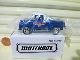 Matchbox 1998 Hershey Pa Toy Show Superfast 1956 Ford Pickup Truck Nu In C9 Box - $19.75